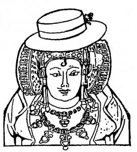 Dibujo - Dama cordobesa