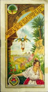 Cartel - Fiestas de Elche de 1925