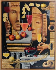 Pintura - Dama de Elche con Novio