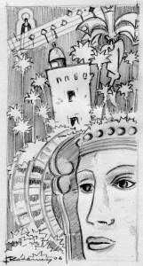 Dibujo - Boceto para Tarjeta Navidad