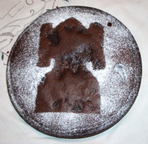Objeto - Bizcocho de chocolate