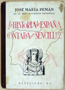 Libro - Historia de España contada con sencillez