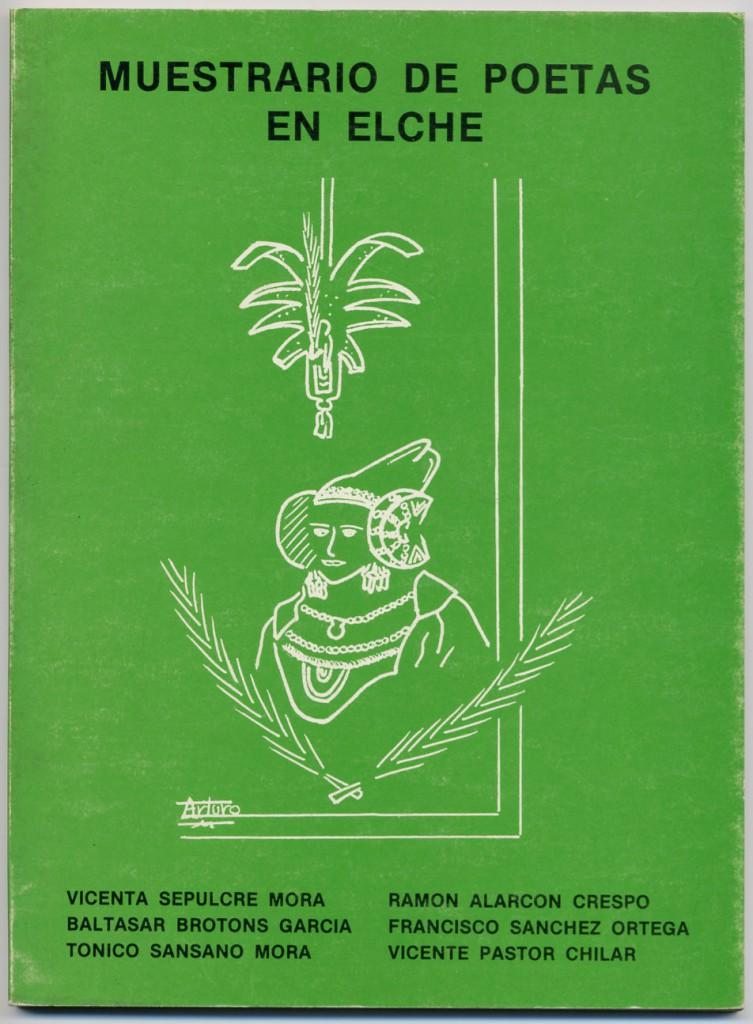 Libro - Muestrario de poetas en Elche