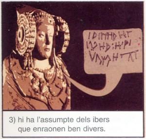 Dibujo - Viñeta Dama de Elche