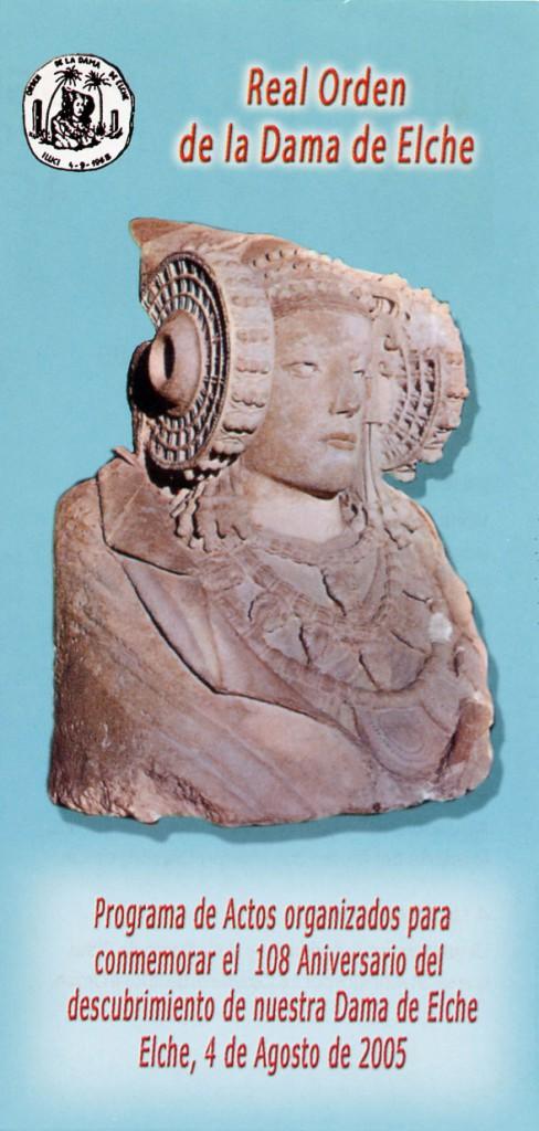 Sin clasificar - Díptico Real Orden Dama de Elche