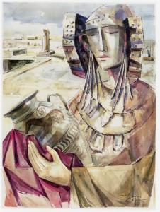 Pintura - La Dama en la Alcudia
