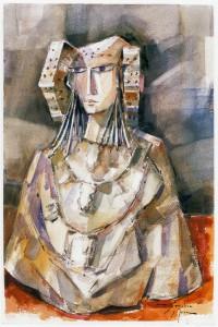 Pintura - Los Collares de la Dama