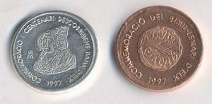 Timbre - Moneda bimilenario