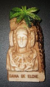Objeto - Dama y palmera