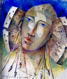 Pintura - Dama XXI