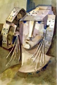 Pintura - Dama gris