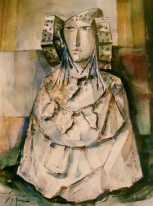 Pintura - Dama II