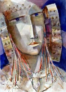 Pintura - Dama VII