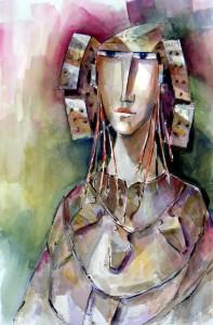 Pintura - Dama VIII
