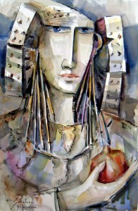 Pintura - Dama XIII