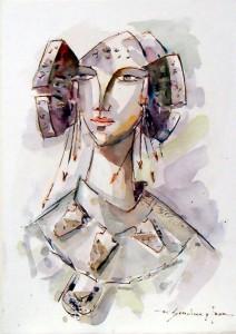 Pintura - Dama XVI