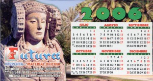 Objeto - Calendario 2006 de mesa
