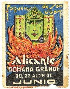 Timbre - Sello Fogueres de San Joan