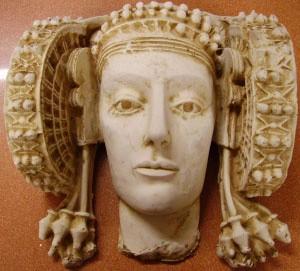 Reproducción - Cara grande de Dama de Elche