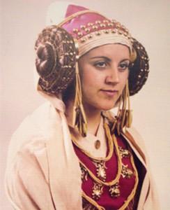 Dama viviente - Justa María Asencio Pascual