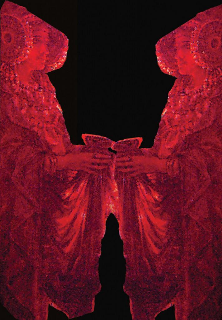Otras técnicas artísticas - Damas rojas