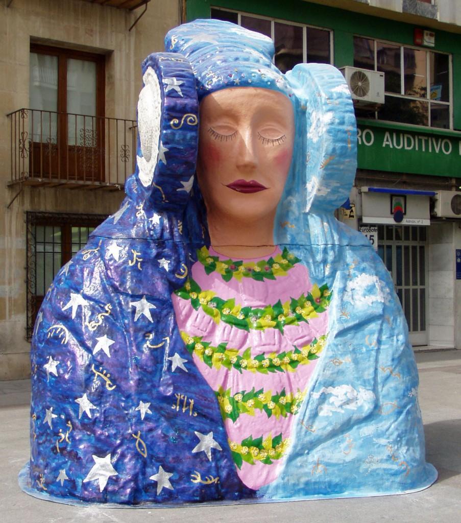 Pintura - Dama de Elche monumental