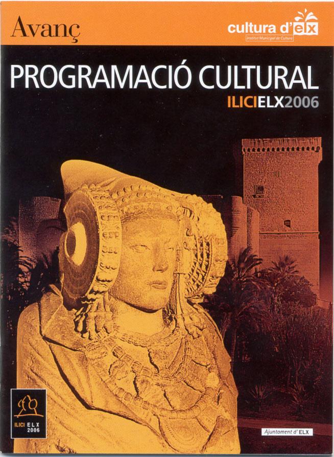 Libro - Avanç Programació Cultural