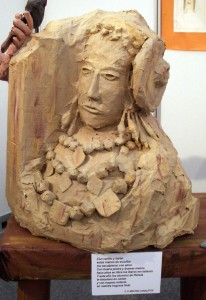 Escultura - Dama ninot