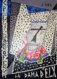 Pintura - Dama abstracta