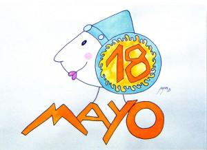 Dibujo - Vuelve a Elche el 18 de mayo de 2006