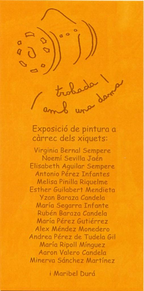 Libro o impreso - Tarjeta exposición