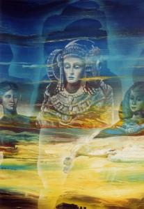 Pintura - Alegoría de la Dama de Elche 2
