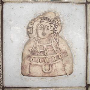 Cerámica - Estampes d'Elx-Dama de Elche