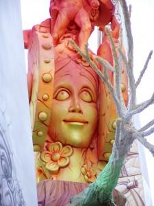 Escultura - Remate Hoguera Dama de Elche