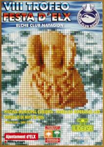 Cartel - VIII Trofeo Festa d'Elx Natación