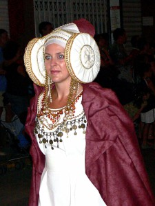 Dama viviente - Disfraz Charanga 2006