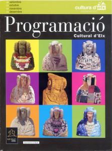 Libro o impreso - Programació cultural d'Elx