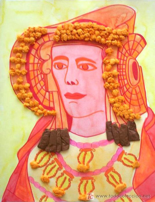 Dibujo - Dama de Elche-I