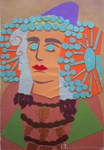 Dibujo - Dama de Elche-IV