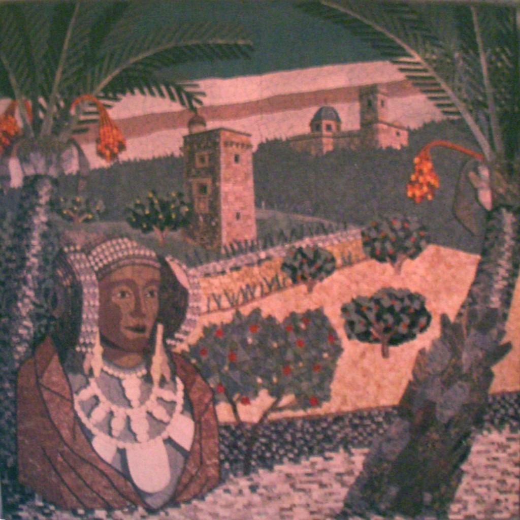 Pintura - Dama en La Alcudia ?