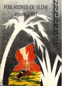 Libro - Pobladores de Elche 1981
