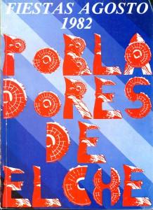 Libro - Pobladores de Elche 1982
