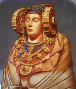 Pintura - Dama de Elche policromada