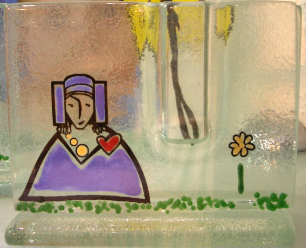 Objeto - Florero Dama de Elche