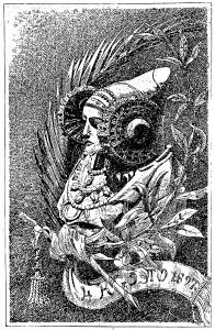 Dibujo - Alegoría de la Dama de Elche