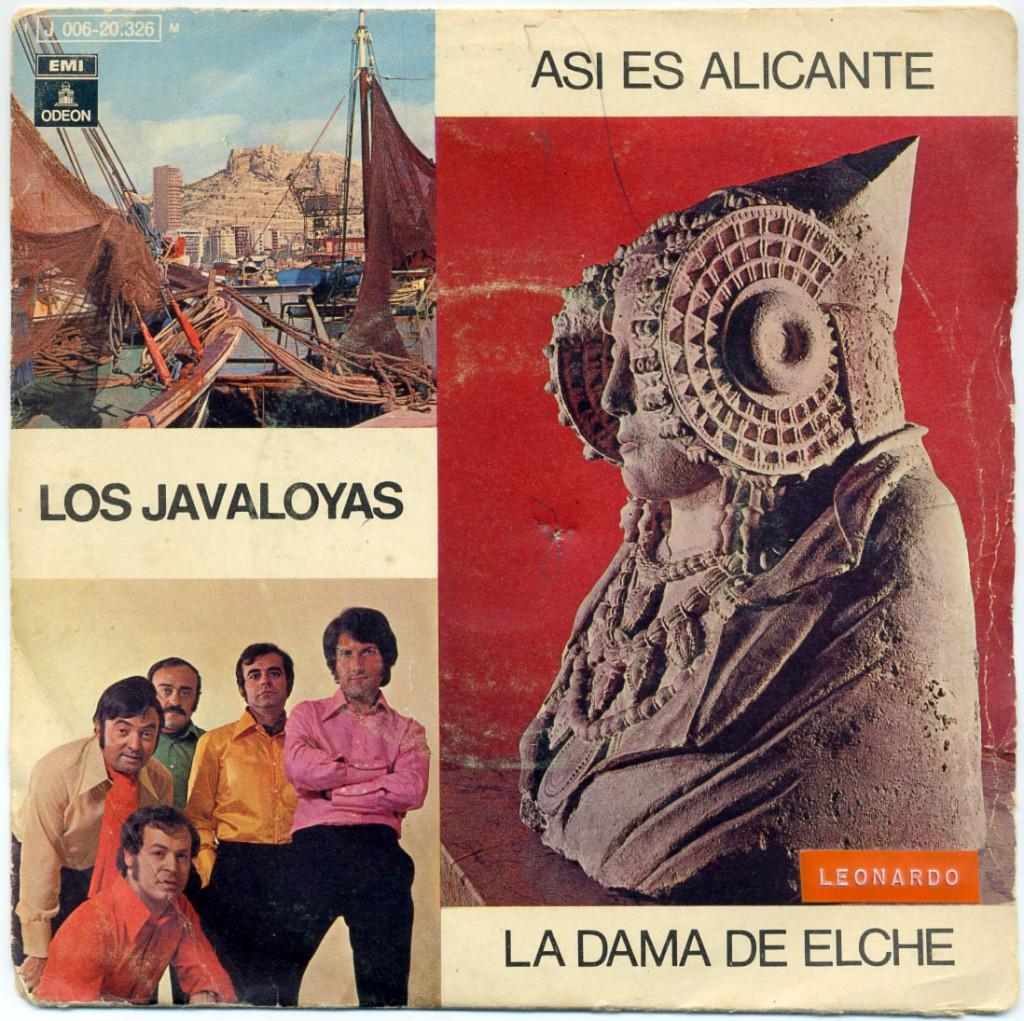 Objeto - Disco de Los Javaloyas