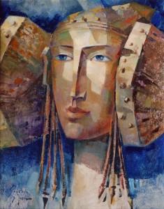Pintura - Los pendientes de la Dama 1906