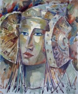 Pintura - La Dama vuelve a Elche 3306
