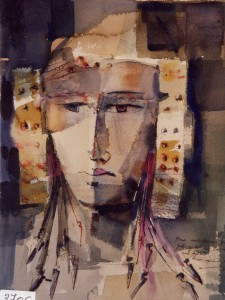 Pintura - Dama de Liandres 3706