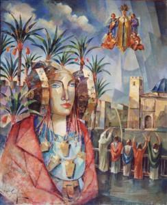 Pintura - La Dama y sus patrimonios 4706